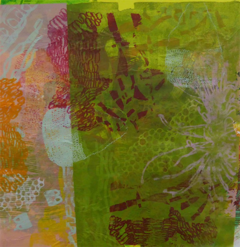 O.T. 60x60 Siebdruck auf Bütten